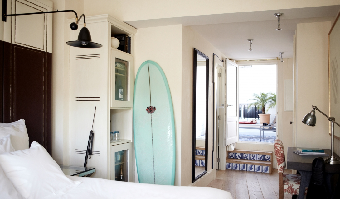 Hotel Cort Doppelzimmer mit Terrasse