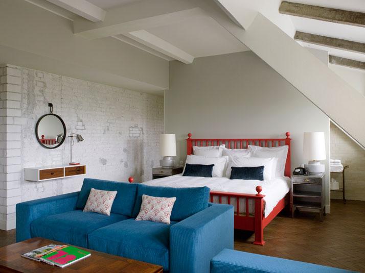 Trendy Doppelzimmer