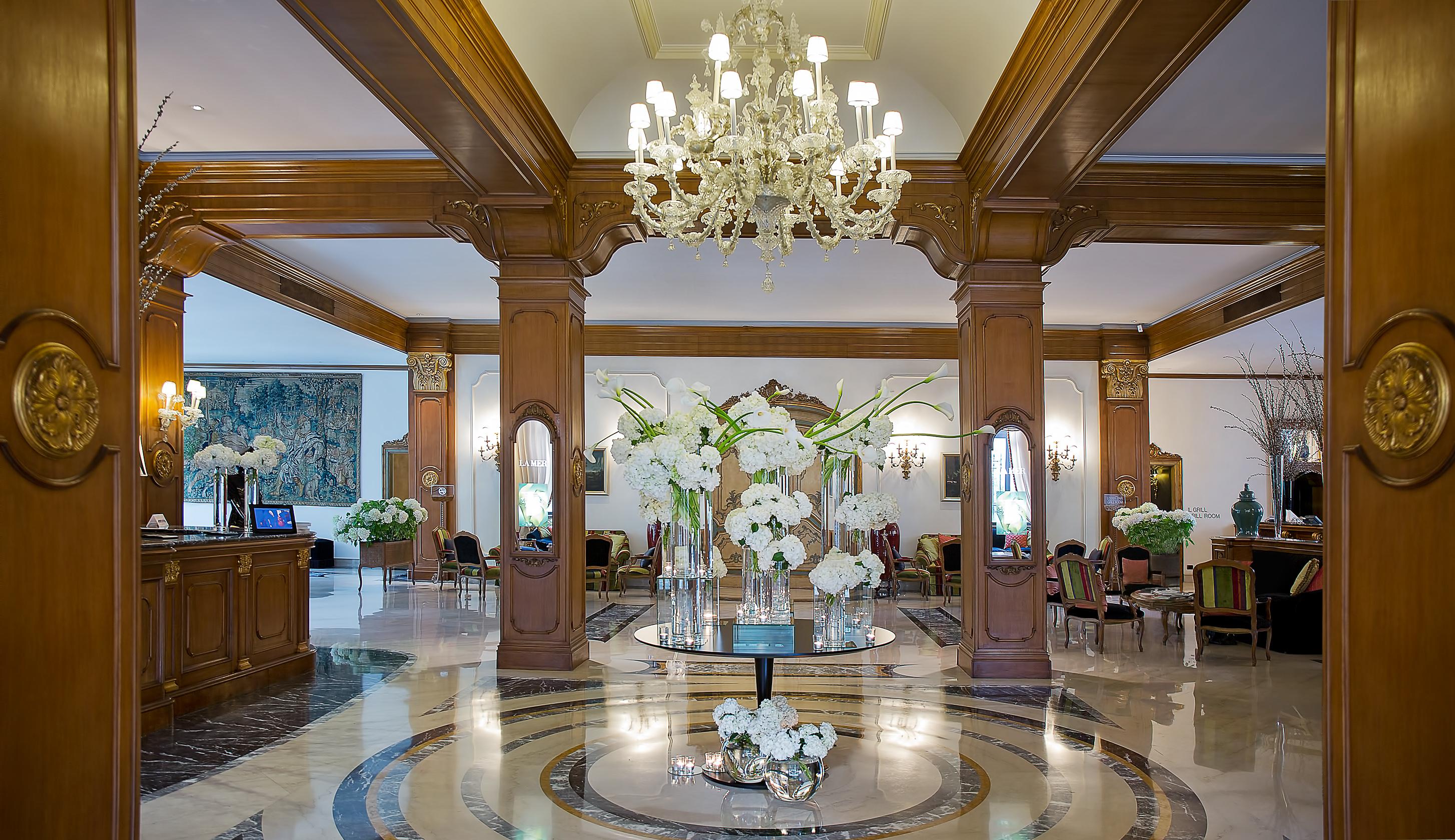 Hotel Aldrovandi Villa Borghese - Eingangshalle