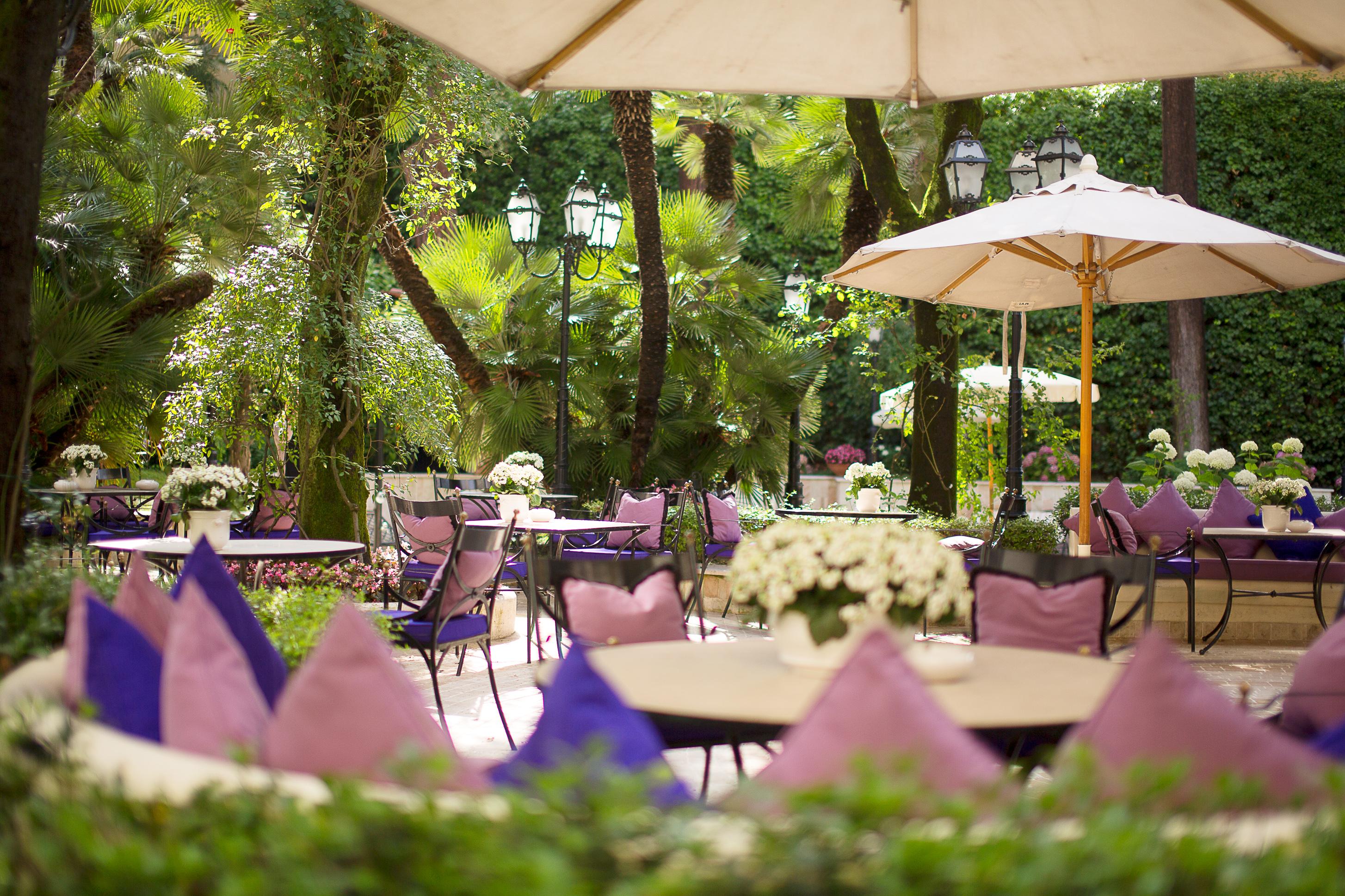 Hotel Aldrovandi Villa Borghese - Garten