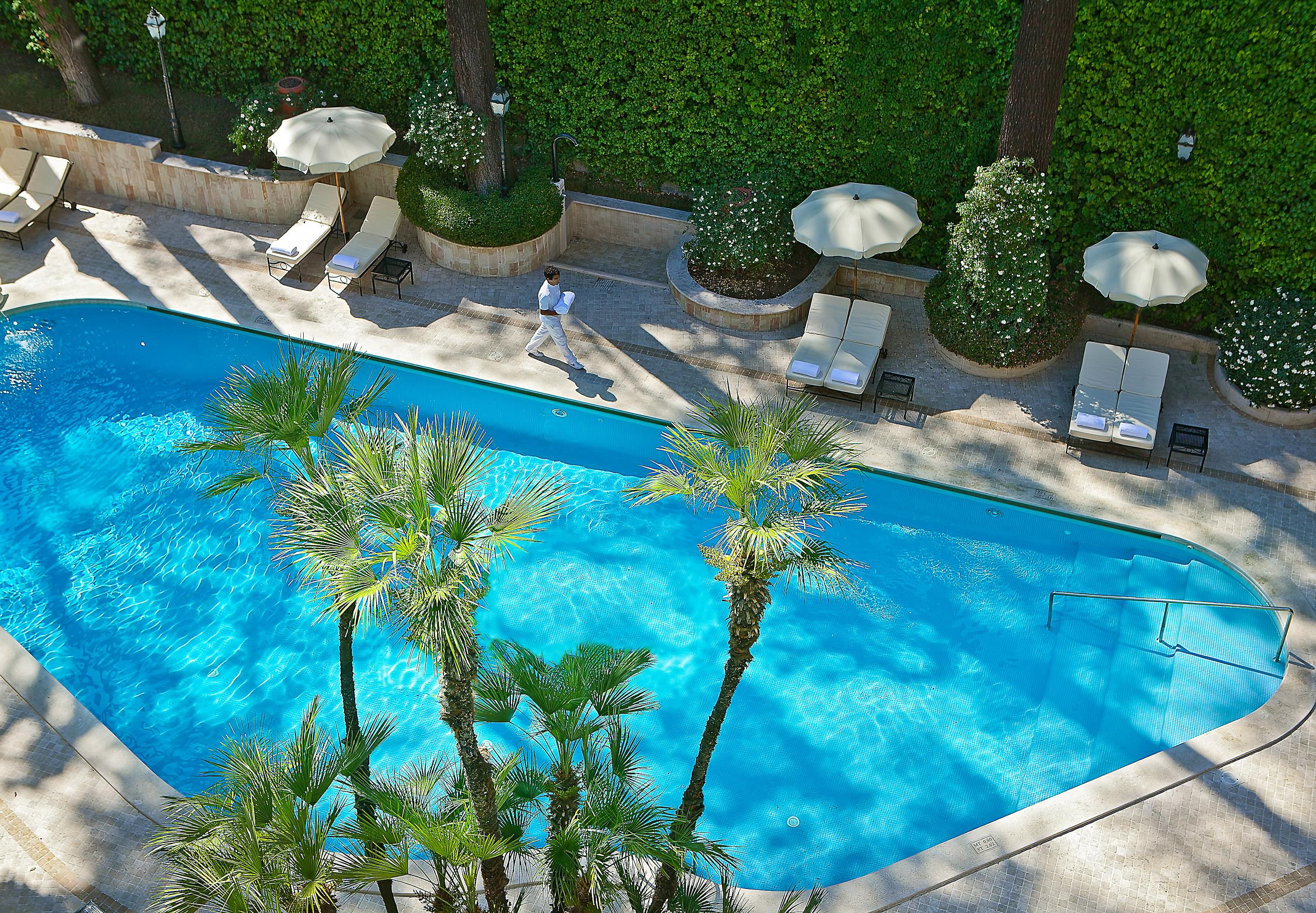 Hotel Aldrovandi Villa Borghese - Pool