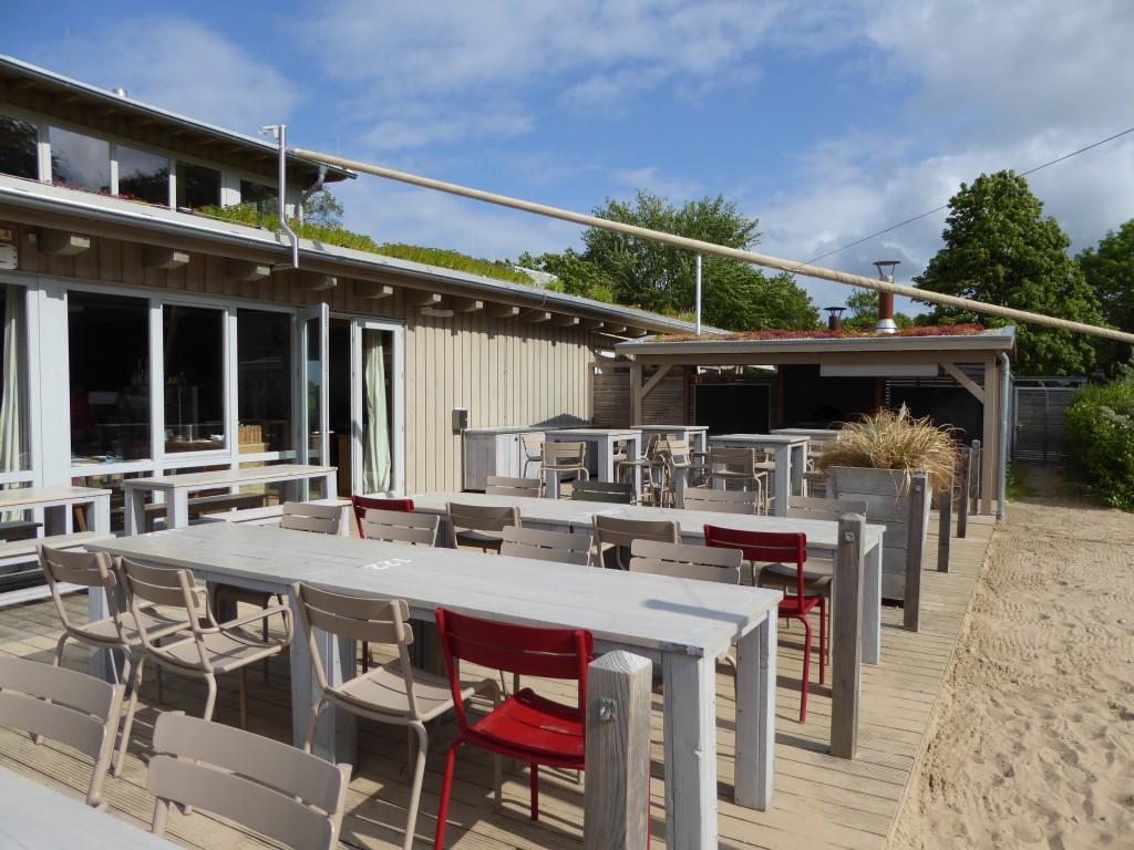 Terrasse - Bootshaus